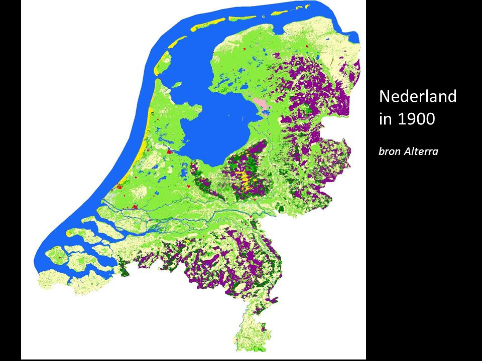 Nederland in 1900 bron Alterra