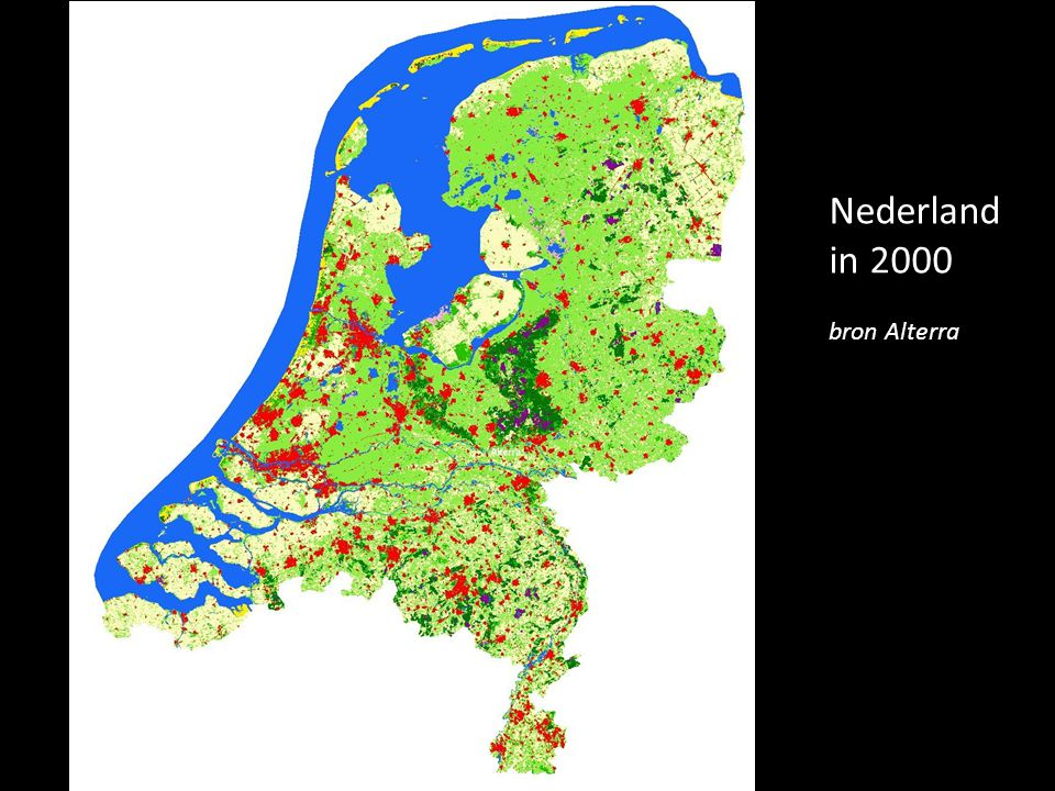 Nederland in 2000 bron Alterra