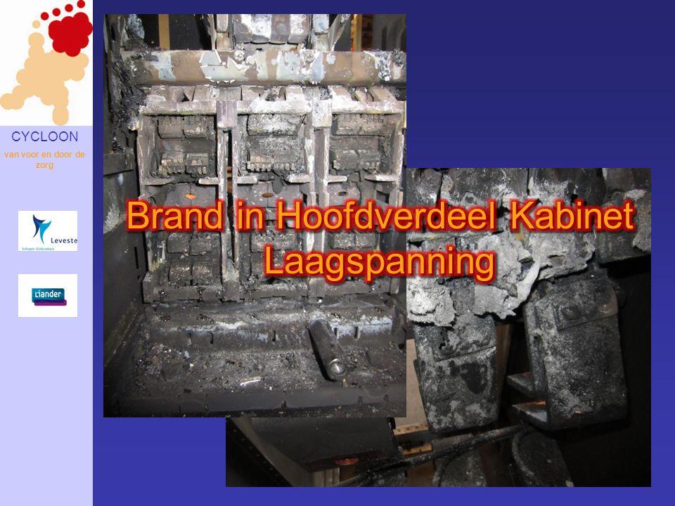 Brand in Hoofdverdeel Kabinet Laagspanning