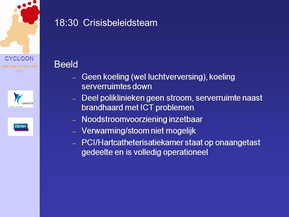 18:30 Crisisbeleidsteam Beeld
