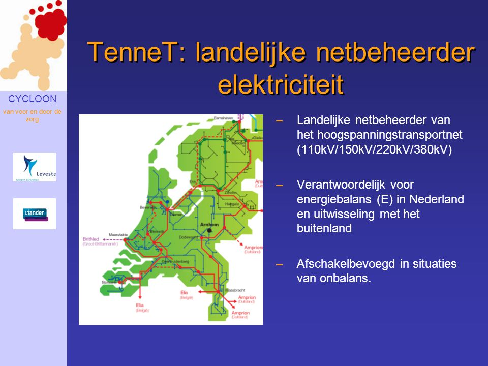 TenneT: landelijke netbeheerder elektriciteit