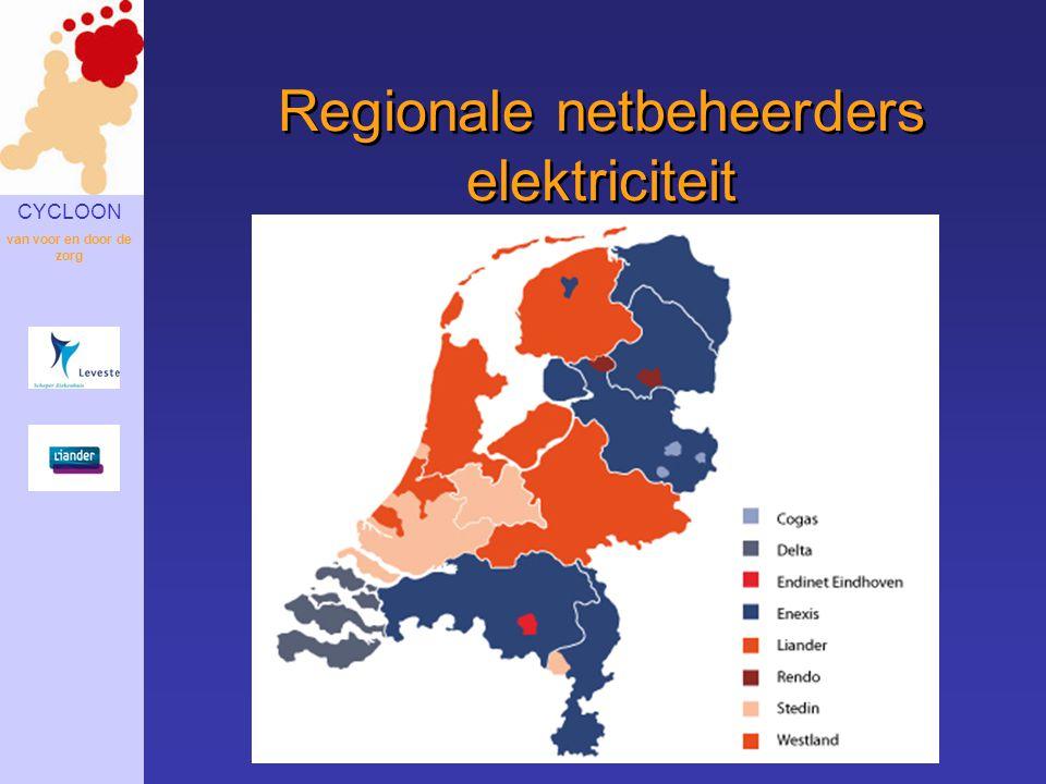 Regionale netbeheerders elektriciteit