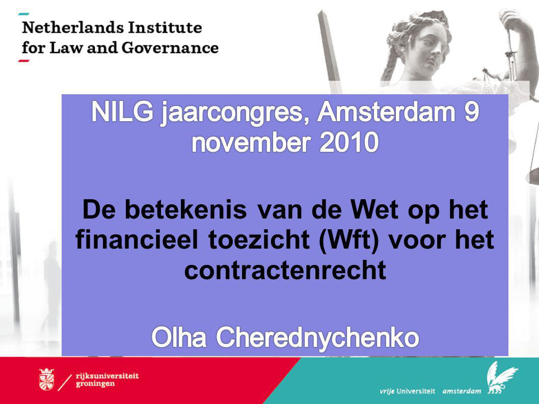 NILG jaarcongres, Amsterdam 9 november 2010