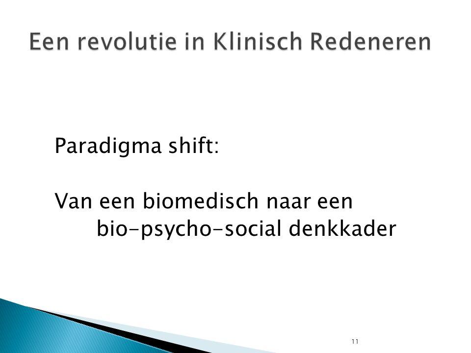 Een revolutie in Klinisch Redeneren