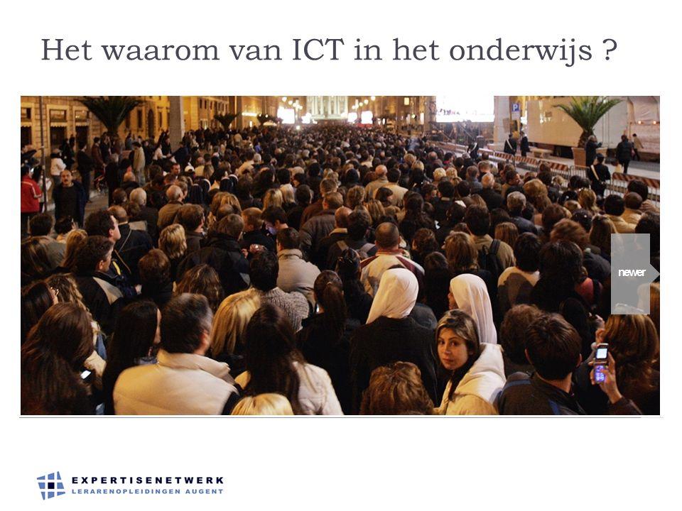 Het waarom van ICT in het onderwijs