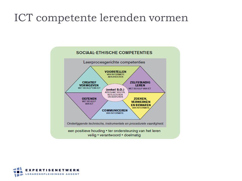 ICT competente lerenden vormen