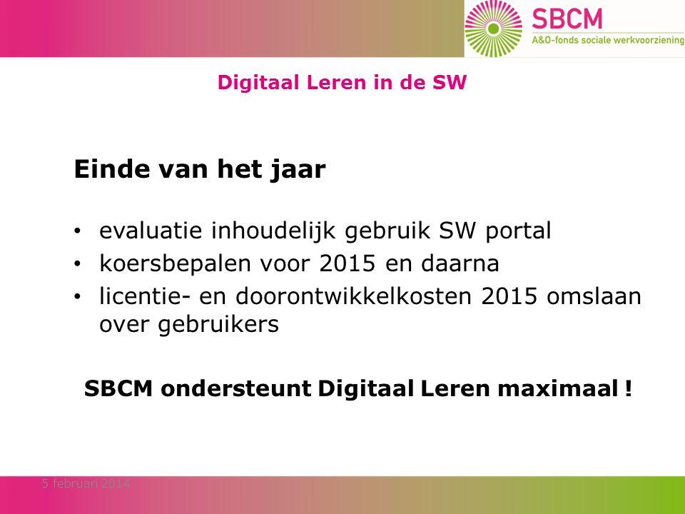 SBCM ondersteunt Digitaal Leren maximaal !