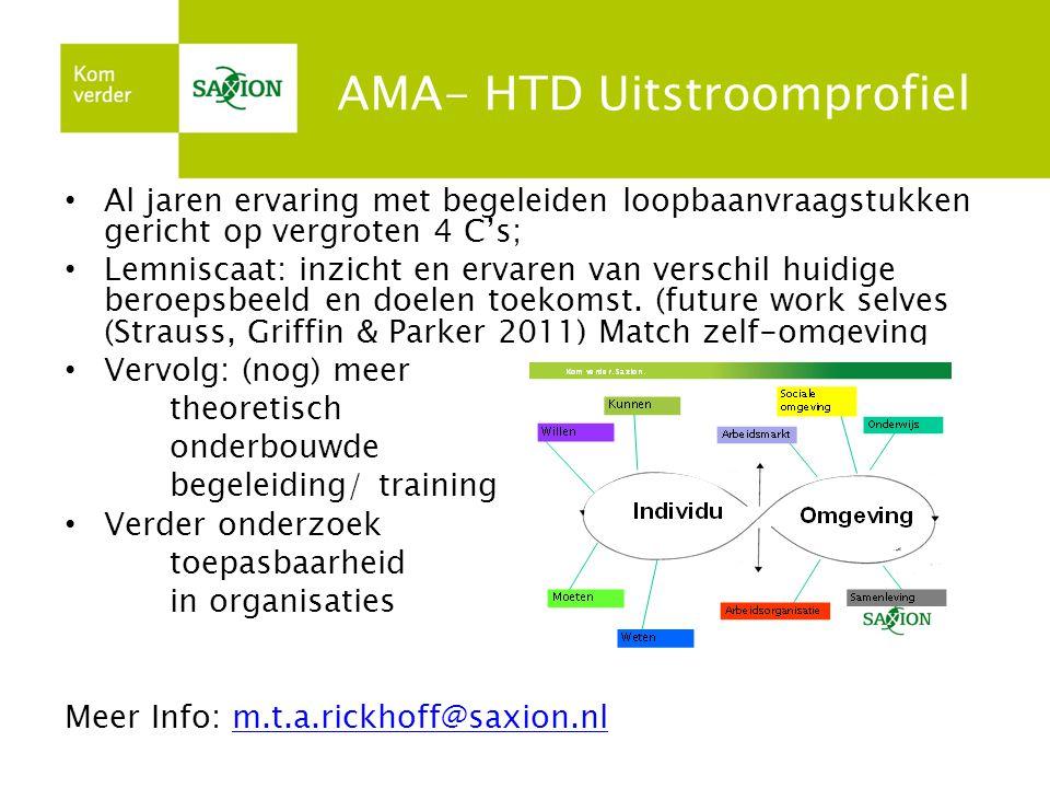 AMA- HTD Uitstroomprofiel