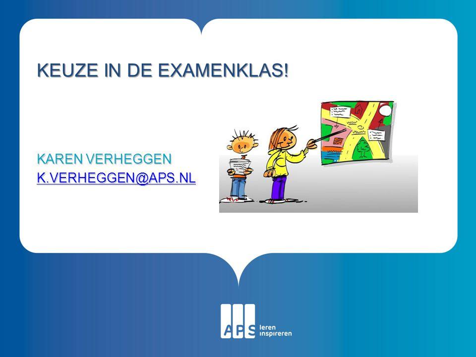 Karen Verheggen k.verheggen@aps.nl