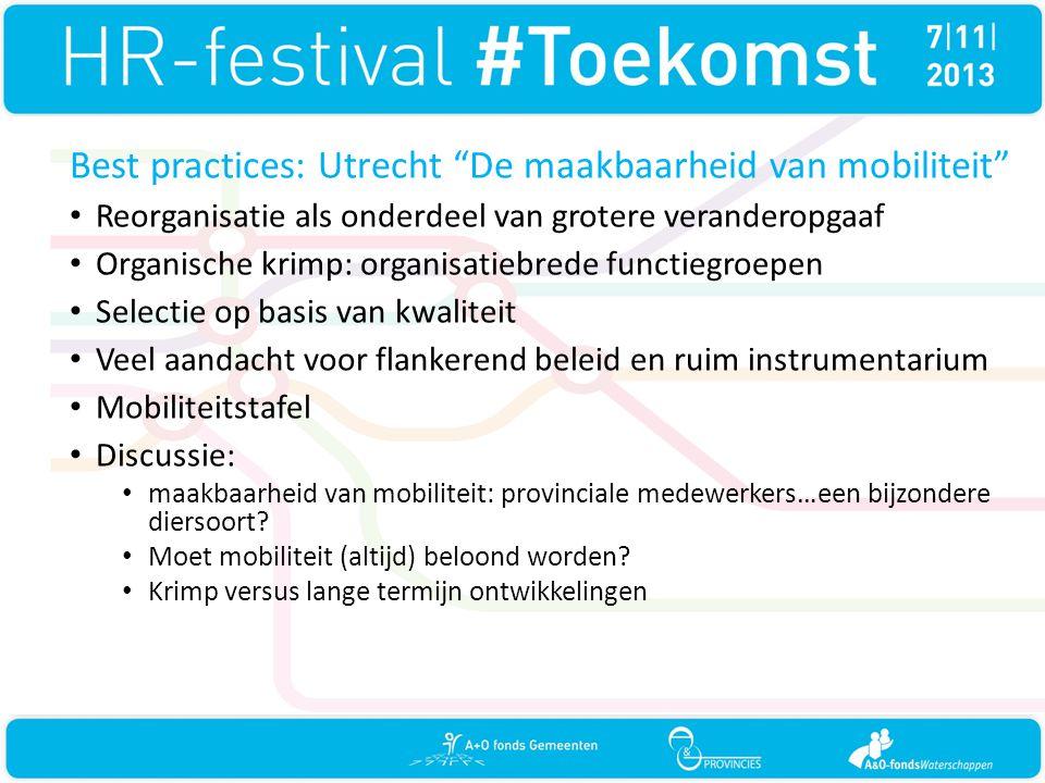 Best practices: Utrecht De maakbaarheid van mobiliteit