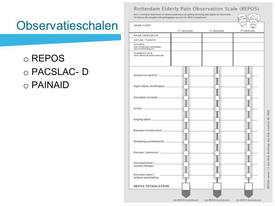 Observatieschalen REPOS PACSLAC- D PAINAID