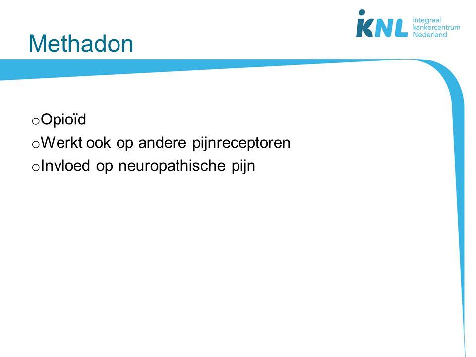 Methadon Opioïd Werkt ook op andere pijnreceptoren