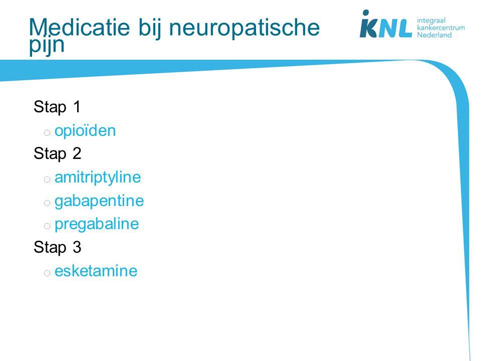Medicatie bij neuropatische pijn