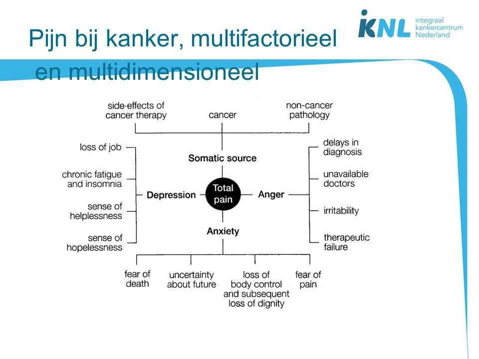 Pijn bij kanker, multifactorieel en multidimensioneel