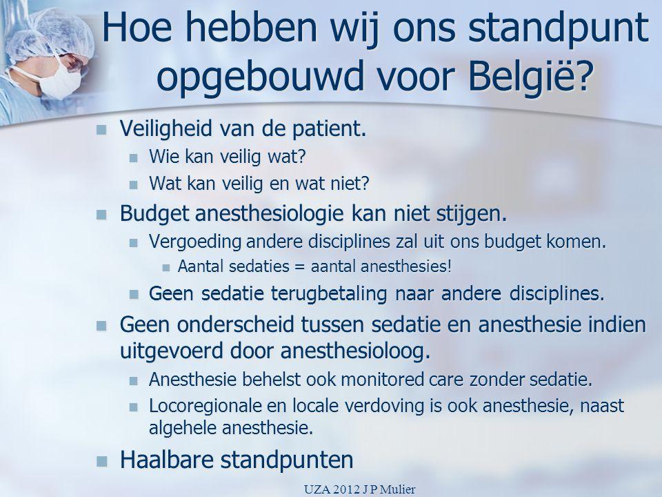 Hoe hebben wij ons standpunt opgebouwd voor België