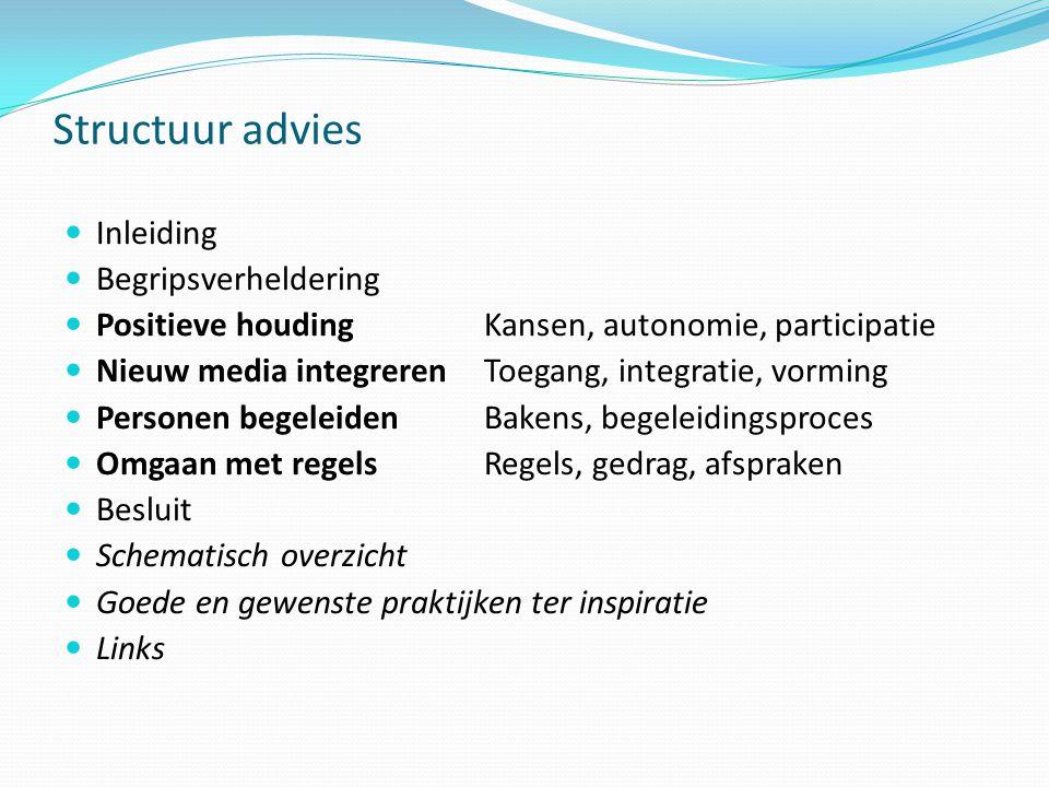 Structuur advies Inleiding Begripsverheldering