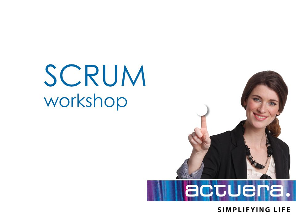 SCRUM workshop