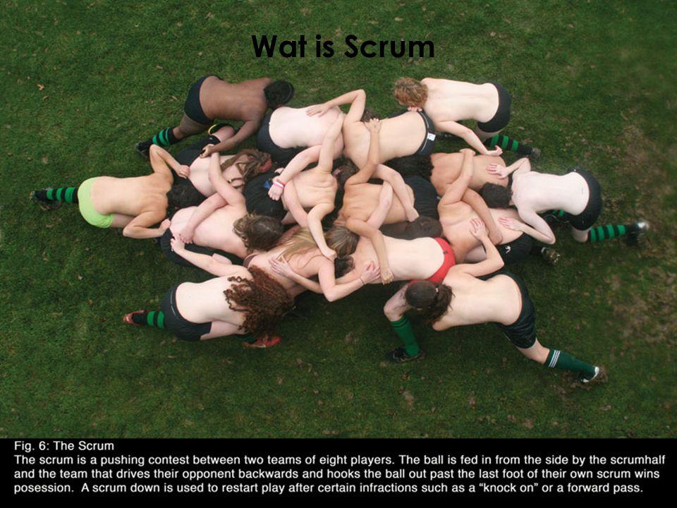 Wat is Scrum