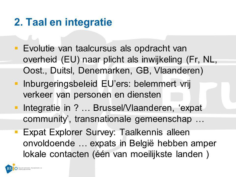 2. Taal en integratie