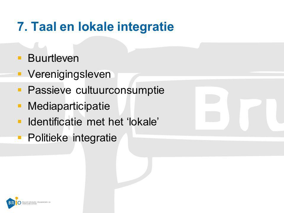 7. Taal en lokale integratie