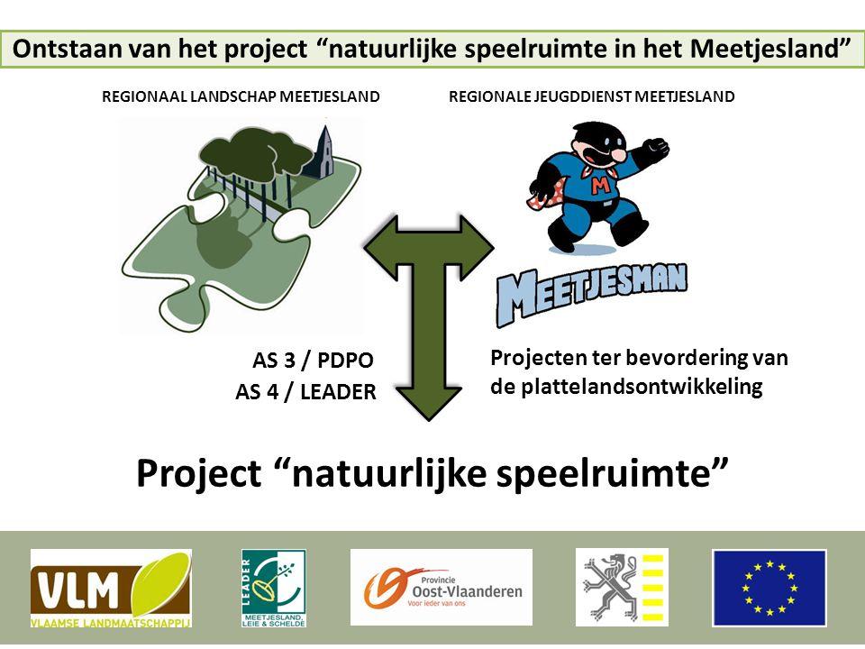 Project natuurlijke speelruimte
