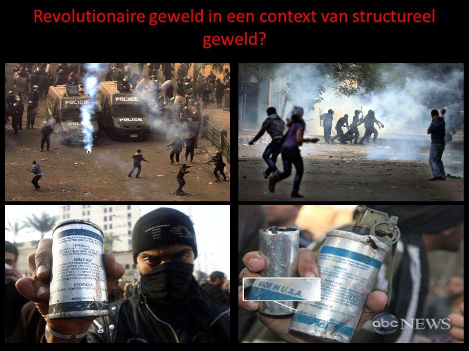 Revolutionaire geweld in een context van structureel geweld
