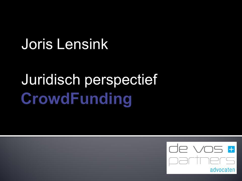 Joris Lensink Juridisch perspectief