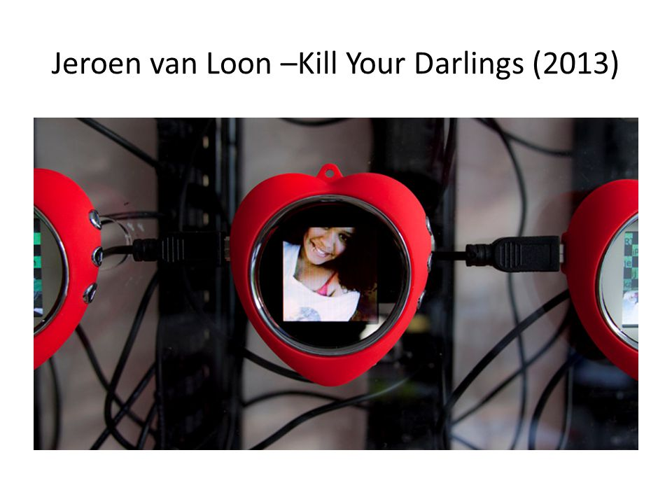 Jeroen van Loon –Kill Your Darlings (2013)