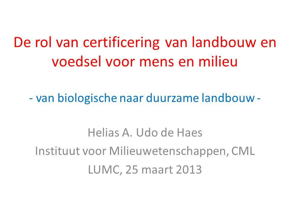 Instituut voor Milieuwetenschappen, CML
