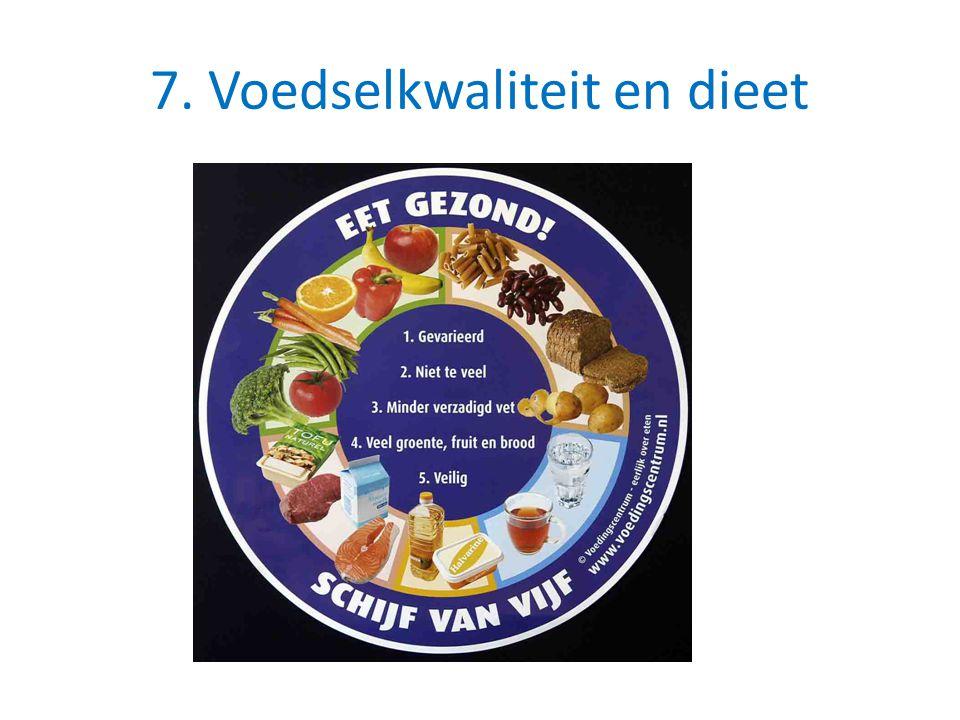 7. Voedselkwaliteit en dieet