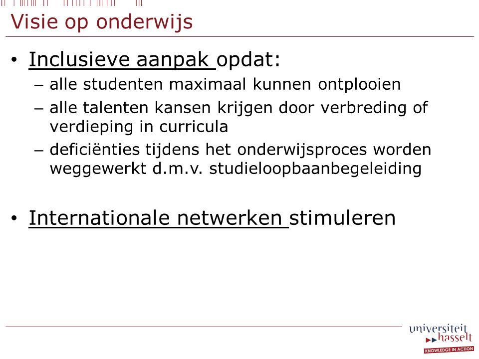 Inclusieve aanpak opdat: