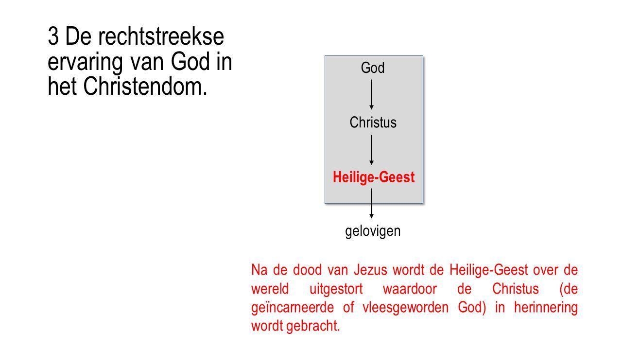 3 De rechtstreekse ervaring van God in het Christendom.