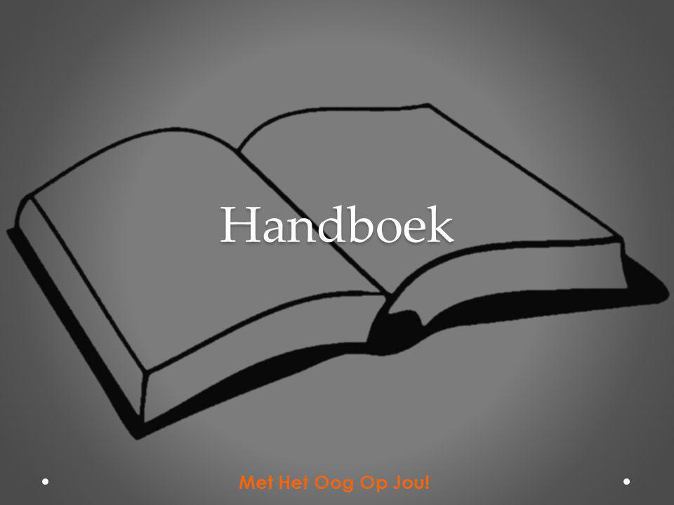 Handboek Met Het Oog Op Jou!