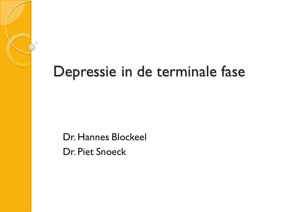 Depressie in de terminale fase