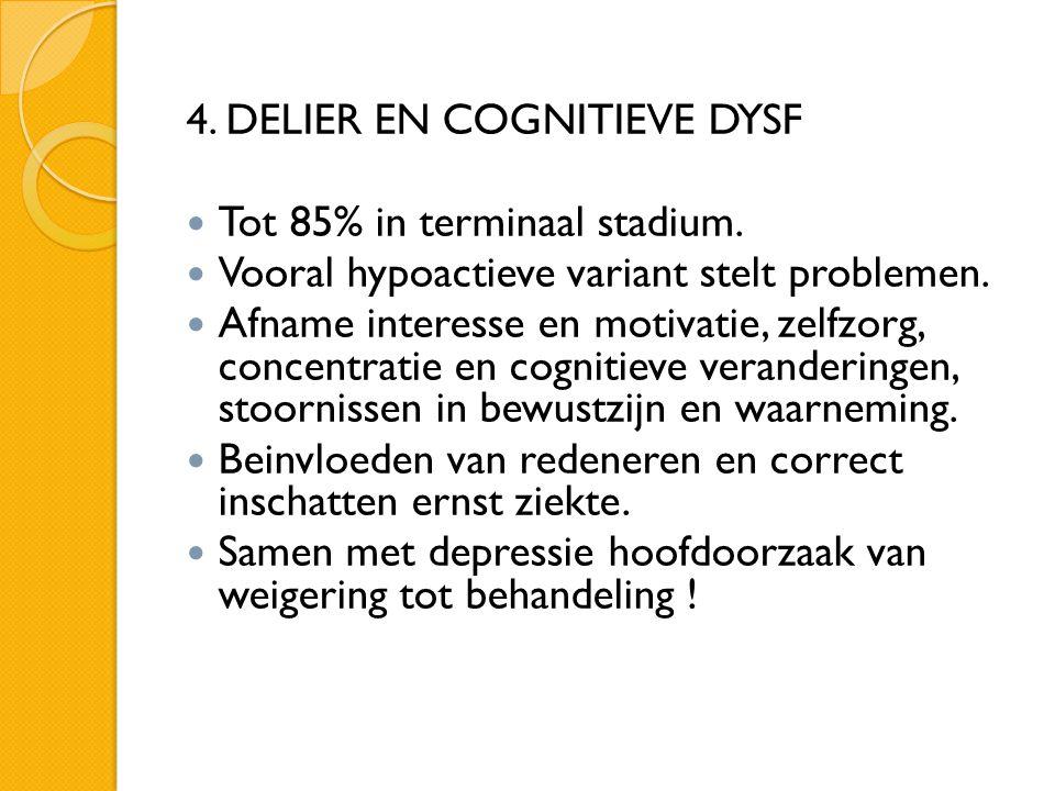 4. DELIER EN COGNITIEVE DYSF