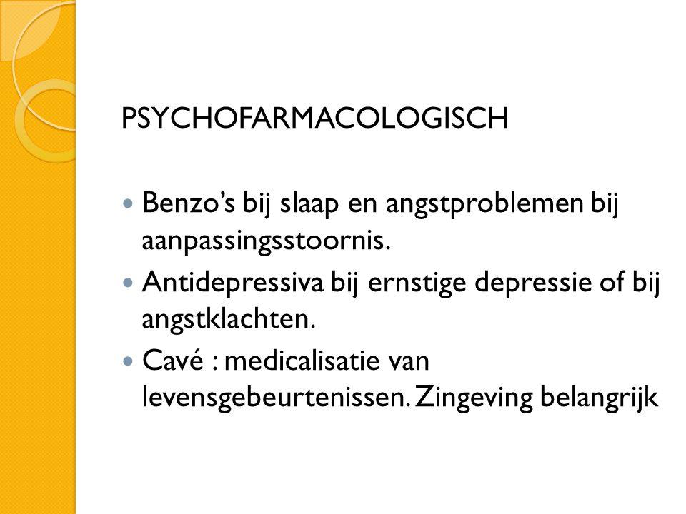 PSYCHOFARMACOLOGISCH