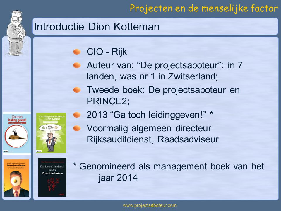 Introductie Dion Kotteman