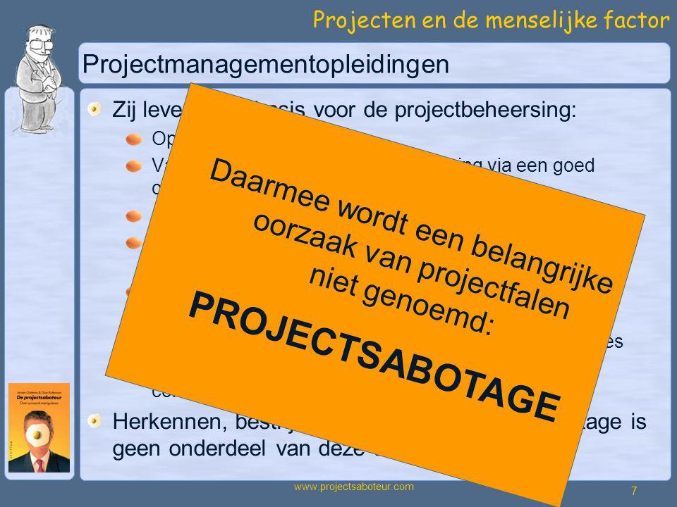 Projectmanagementopleidingen