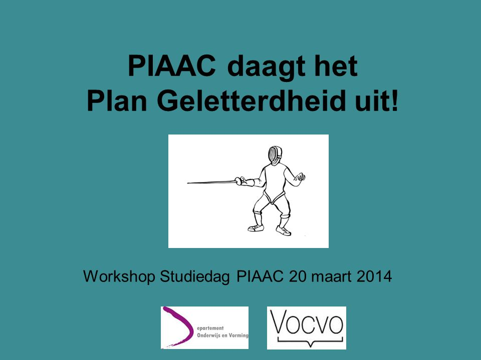 PIAAC daagt het Plan Geletterdheid uit!
