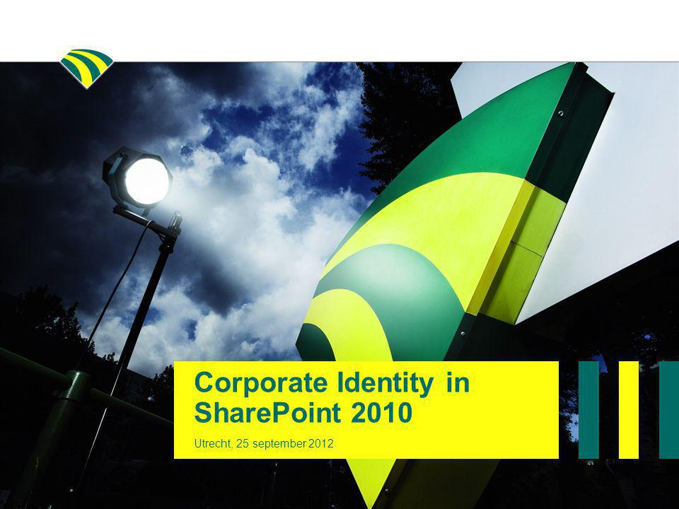 Corporate Identity in SharePoint 2010