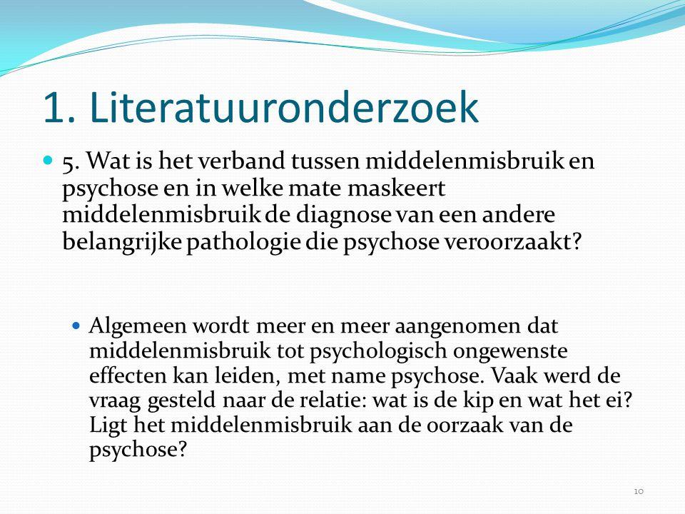 1. Literatuuronderzoek