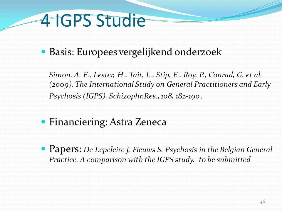 4 IGPS Studie