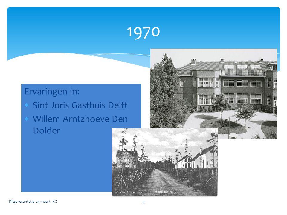 1970 Ervaringen in: Sint Joris Gasthuis Delft