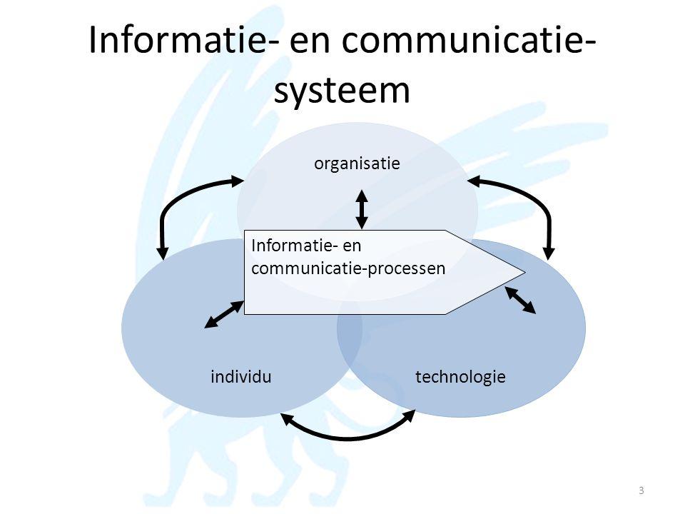 Informatie- en communicatie-systeem