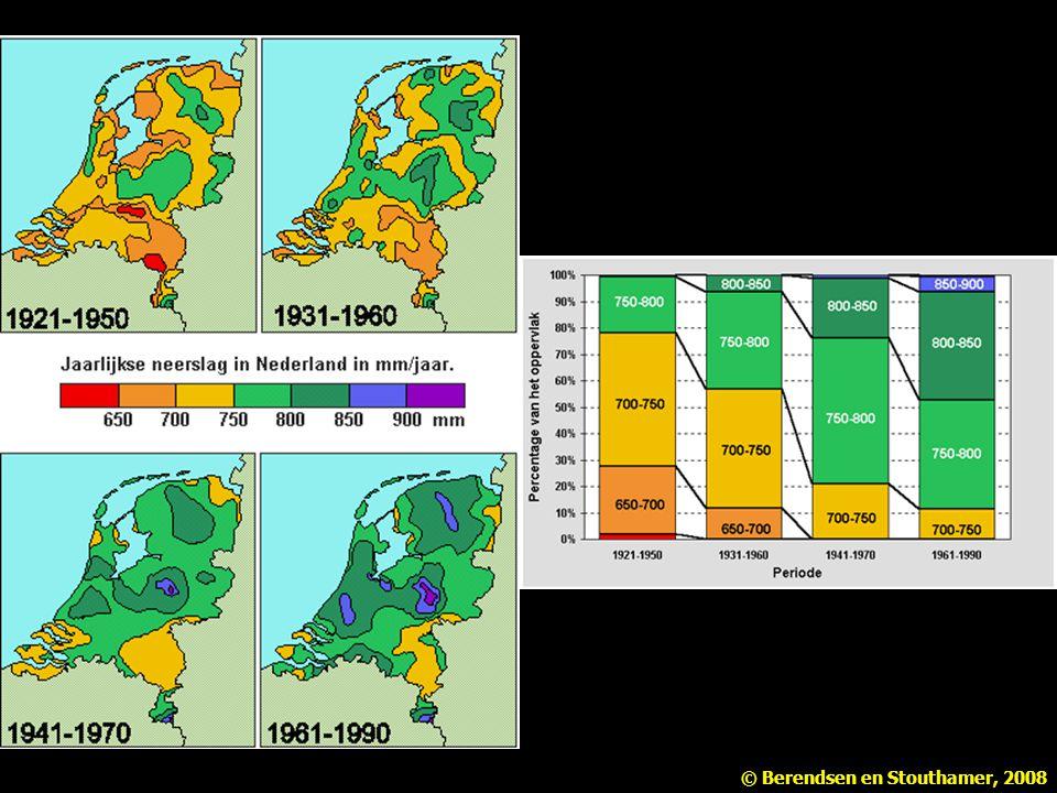 Nedeland is natter geworden tussen 1921 en 1990