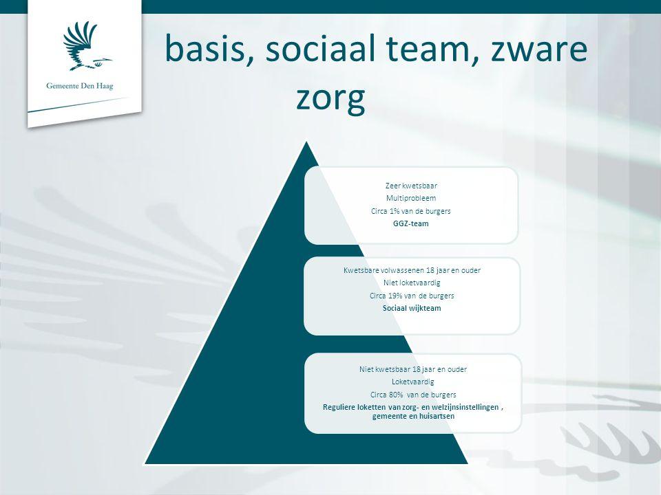 basis, sociaal team, zware zorg
