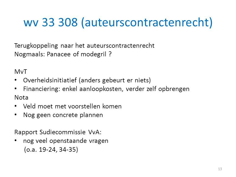 wv 33 308 (auteurscontractenrecht)