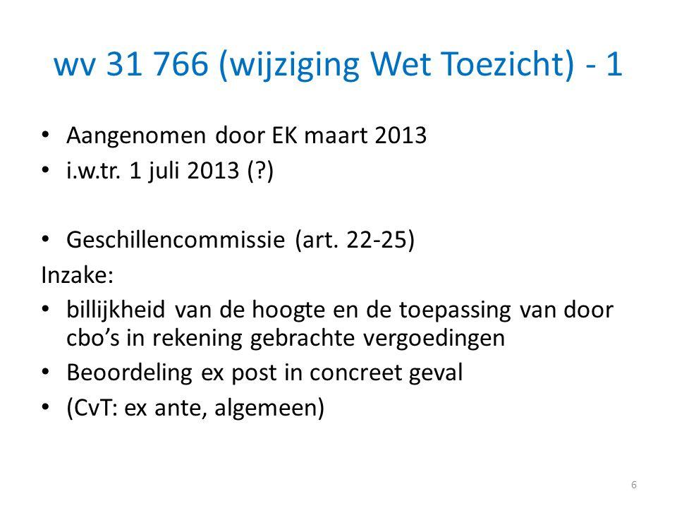 wv 31 766 (wijziging Wet Toezicht) - 1