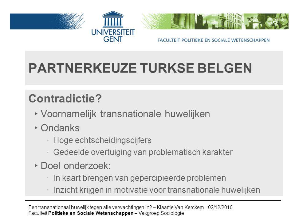 Partnerkeuze turkse belgen