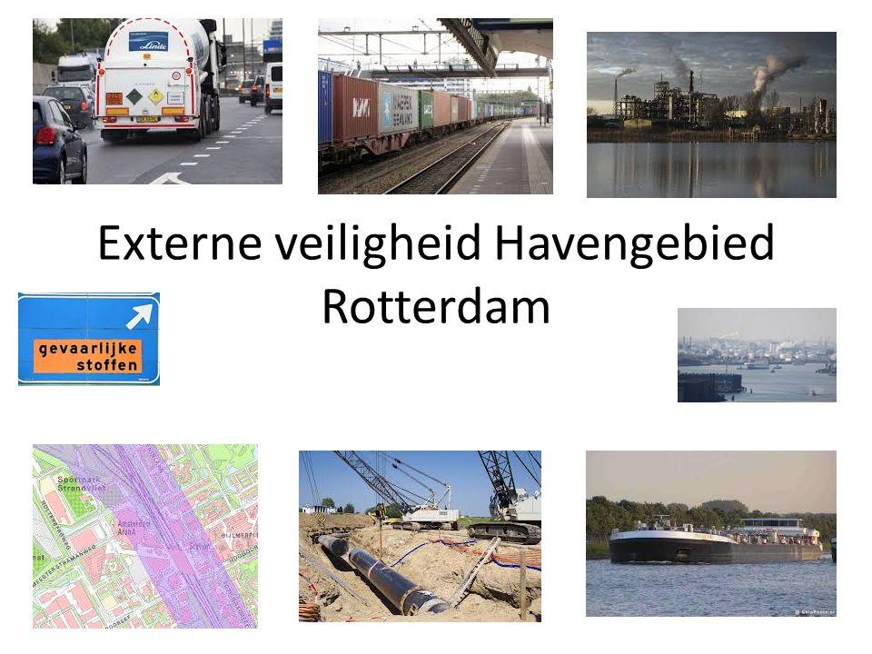 Externe veiligheid Havengebied Rotterdam